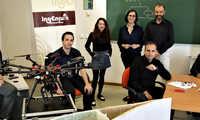 Investigadores de la UCLM desarrollan un nuevo sistema de monitorización de paneles solares a través de drones equipados con cámaras térmicas y sensores radiométricos