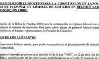 """El Grupo Municipal Socialista de Pozuelo de Calatrava, pide """"transparencia y explicaciones a Julián Triguero en los procesos de selección"""""""
