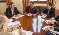 González Ramos y la CHS se comprometen a resolver los expedientes presentados por los regantes de Hellín (Albacete) en el menor tiempo posible