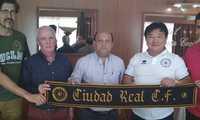 La Escuela de Futbol de Ciudad Real y el Ciudad Real C.F. firman un acuerdo de filialidad