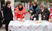 Cruz Roja celebra en Alcázar su cuestación anual con la participación de 150 voluntarios