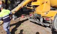 El Ayuntamiento de Alcázar inicia la rehabilitación del acerado de la zona industrial