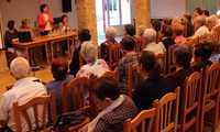 El Centro de Mayores de Alcázar acogió una charla sobre la soledad que afecta a este colectivo