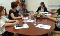 Inmaculada Herranz se reúne con CCOO Castilla-La Mancha para fomentar las vías de coordinación del Plan de Garantías