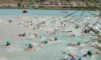 Pareja, paraiso interior de los deportes de agua