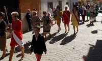Cientos de vecinos de Villamayor de Calatrava celebran hoy el Domingo del Rosario