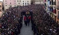 Mariscal destaca la organización y elevada participación en la Semana Santa Conquense