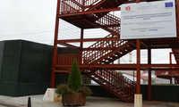 Recepcionadas en Azuqueca las obras de apantallamiento de las vías del tren con financiación del FEDER