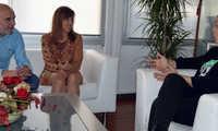 La Asociación de Periodistas de Ciudad Real muestra  a Pilar Zamora su disposición de trabajar por la ciudad