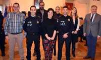 Dos nuevos policías locales y un ingeniero industrial toman posesión en el Ayuntamiento de Ciudad Real