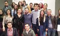 """María Hervás se pone a la cabeza de Juventudes Socialistas de Pozuelo de Cva. """"para trabajar por un cambio en pro de la juventud en nuestro pueblo"""""""