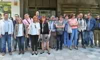 La Junta del Personal funcionario de la JCCM en Albacete se concentra ante Bienestar Social para denunciar la no cobertura de plazas de atención directa al público