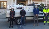 El Ayuntamiento de Socuéllamos y Aquona optimizan la red de saneamiento con la adquisición de un nuevo vehículo de limpieza