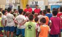 Clausura del VI Campus de Fútbol Sala Ángel Guaita en Manzanares