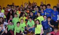 Un total de 200 escolares de Cuenca participan en el proyecto 'Datchball, la batalla de los dinosaurios'