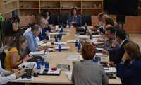 La consejera de Economía, Empresas y Empleo preside el primer Consejo de Dirección de su departamento en la presente legislatura