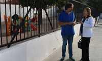 La alcaldesa de Socuéllamos visita el colegio Gerardo Martínez e informa sobre el inicio de obras por valor de casi 100.000 euros en los centros educativos