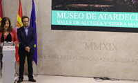 El Valle de Alcudia y Sierra Madrona ha encandilado hoy en FITUR con su original 'Museo de Atardeceres'