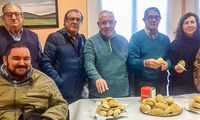 Los mayores de Argamasilla de Calatrava rememoran el tiempo de las matanzas compartiendo hoy el Día del Chorizo
