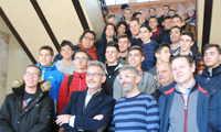 El alcalde de Valdepeñas recibe alumnos y profesores de países europeos del proyecto Erasmus+ KA202