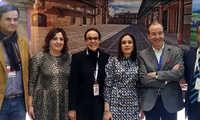 Eva María Masías participa en varias reuniones y actividades de promoción del turismo en FITUR