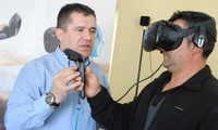 Realidad virtual para empleados municipales de Valdepeñas contra la siniestralidad laboral