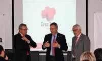 El presidente nacional de Cruz Roja, Javier Senent García, visita el edificio renovado en Toledo