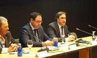Ángel Mariscal presenta a las agencias de viajes la oferta turística de Cuenca