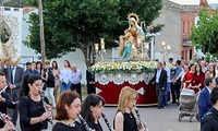 La Estación de Brazatortas va a disfrutar este último fin de semana de mayo de sus celebraciones patronales en honor a la Divina Pastora