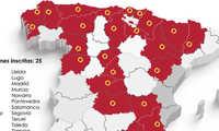 Veinticinco establecimientos hosteleros de trece comunidades autónomas competirán en el I 'Campeonato oficial de Tapas y Pinchos de España'