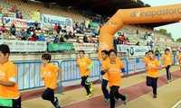 El Quixote Maratón de Ciudad Real finaliza su 23 edición más vivo que nunca gracias a corredores, voluntarios y a casi 2.600 escolares