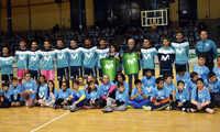 """650 escolares de Ciudad Real arropan a los """"Megacracks"""" del INTER Movistar Fútbol Sala"""