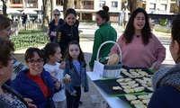 Merienda saludable para niños y niñas de Ciudad Real en los Jardines del Prado