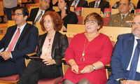 Cristina García Rodero fotógrafa de Puertollano, investida doctora Honoris Causa por la UCLM