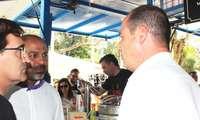 José García Molina participa en el tradicional vermut solidario de la Fundación Nipace