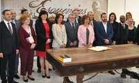 Felpeto participa junto a embajadores y representantes diplomáticos de 18 países en la XI Lectura Universal de El Quijote en Esquivias