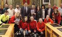 Mariscal felicita a deportistas conquenses por los éxitos conseguidos en diversas pruebas y campeonatos