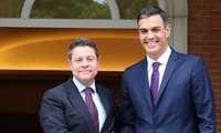 La alcaldesa de Ciudad Real Pilar Zamora valora la reunión mantenida entre Pedro Sánchez y Emiliano García-Page