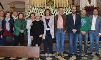 La consejera de Economía, Patricia Franco enaltece la celebración de la Semana Santa en la Ruta de la Pasión Calatrava