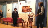 Los mayores del Centro del Lucero protagonizan en Valdepeñas '¿Y quién nos manda hacer teatro?'