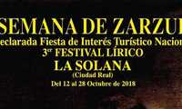 La 35ª Semana de la Zarzuela arranca este 12 de octubre, ofreciendo casi una veintena de espectáculos líricos y teatrales