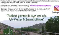 La Diputación de Albacete organiza un concurso fotográfico en 'Instagram' protagonizado por la Vía Verde Sierra de Alcaraz