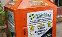 Porzuna ya cuenta con un contenedor para reciclar aceite de uso doméstico