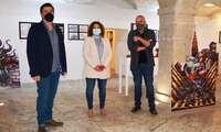 San Clemente acoge una original exposición sobre una novela gráfica ambientada en la ciudad de Toledo