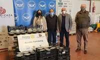 El Club Rotario de Ciudad Real entrega otros 500 menús con carne de caza destinados a familias necesitadas