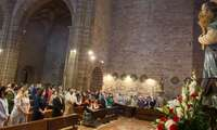 San Isidro se ha celebrado sin romería, pero se ha podido visitar al santo en su Ermita