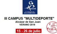 El Instituto Municipal de Deportes de Alcázar ha preparado siete campus de verano que ayudan a conciliar la vida laboral y familiar
