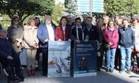 El alcalde de Albacete afirma que seguirá trabajando de la mano de la Asociación de Familiares y Enfermos de Párkinson para mejorar la calidad de vida de las personas que padecen esta enfermedad