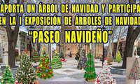 """La Concejalía de Festejos de Argamasilla de Alba convoca la exposición de árboles de Navidad: """"Paseo navideño"""""""