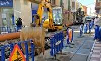 Comienza en Villacañas la obra de renovación de la red de alcantarillado en la calle Mayor